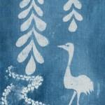 Crane in Water Garden